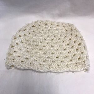 Winter White Knit Cap